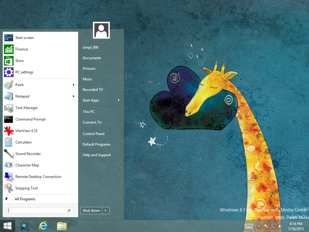 StartIsBack For Windows 8.1